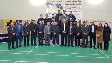 دانشگاه آزاد قهرمان لیگ برتر بدمینتون مردان باشگاه های کشور شد