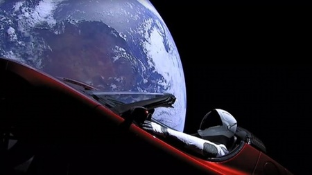 نجوم,ایلان ماسک,شركت اسپيسايكس,فضا