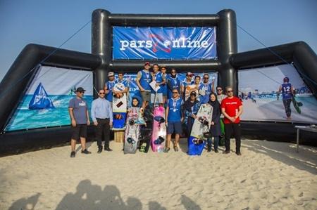 ورزشکاران کیش قهرمان مسابقات کیبل اسکی کشور شدند