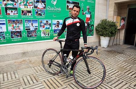 دوچرخه سواری معلولین آسیا؛ اولین طلای کاروان ایران به مهدی محمدی رسید