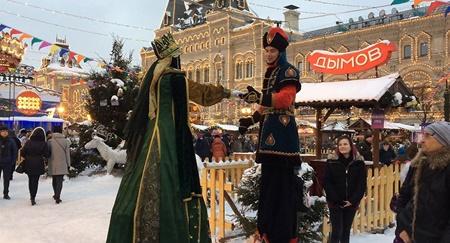 وداع روسیه با زمستان در جشن ماسلنیتسا