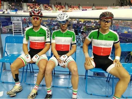 دوچرخه سواری معلولین آسیا؛ تیم اسپرینت ایران و محمدی نایب قهرمان شدند