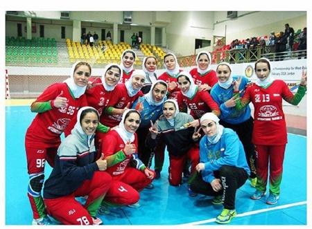 بانوان ایران قهرمان هندبال غرب آسیا شدند