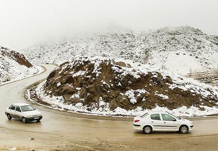 هشدار پلیس راه؛ برف و باران در محورهای ۱۰ استان