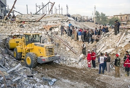 ۱۵ هزار خانه در مناطق زلزله زده کرمانشاه آواربرداری شد