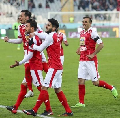 پرسپولیس ۱ - استقلال خوزستان ۰ | پیروزی سرخ ها در باران آزادی