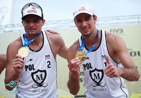 لهستان قهرمان والیبال ساحلی میکاکاپ شد