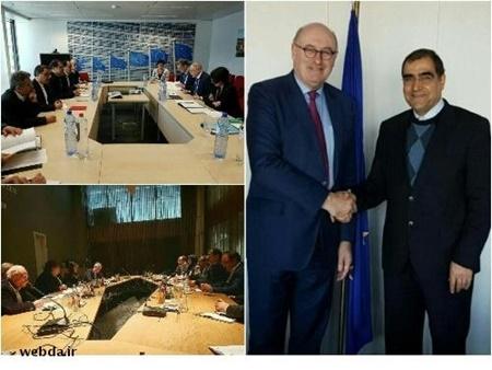 اشتیاق اتحادیه اروپا برای سرمایه گذاری متقابل در بخش سلامت جمهوری اسلامی ایران