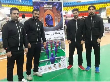 تیم خالص سازان روی زنجان بر سکوی قهرمانی فوتبال رومیز لیگ برتر ایستاد