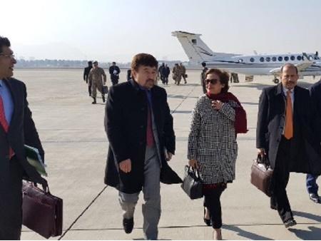 سفر هیات بلندپایه پاکستانی به افغانستان