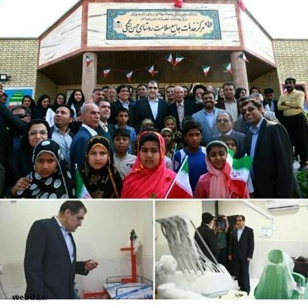 ۱۸۱ پروژه بهداشتی استان هرمزگان با حضور وزیر بهداشت افتتاح شد