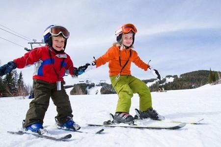 نکته بهداشتی: ایمنی در اسکی کودکان