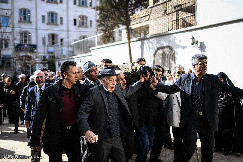 وداع سینماگران با کارگردان دلیران تنگستان   حقی که پایمال شد