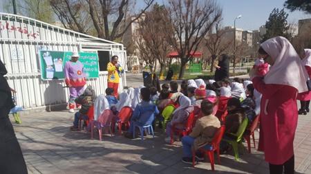 آموزش تفکیک پسماند به بیش از ۵۰۰۰ شهروند جنوب تهران