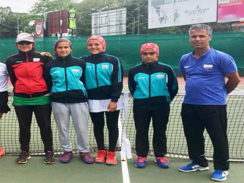 تنیس پیش مقدماتی تیمی آسیا و اقیانوسیه؛ دختران ایران در جایگاه سوم ایستادند