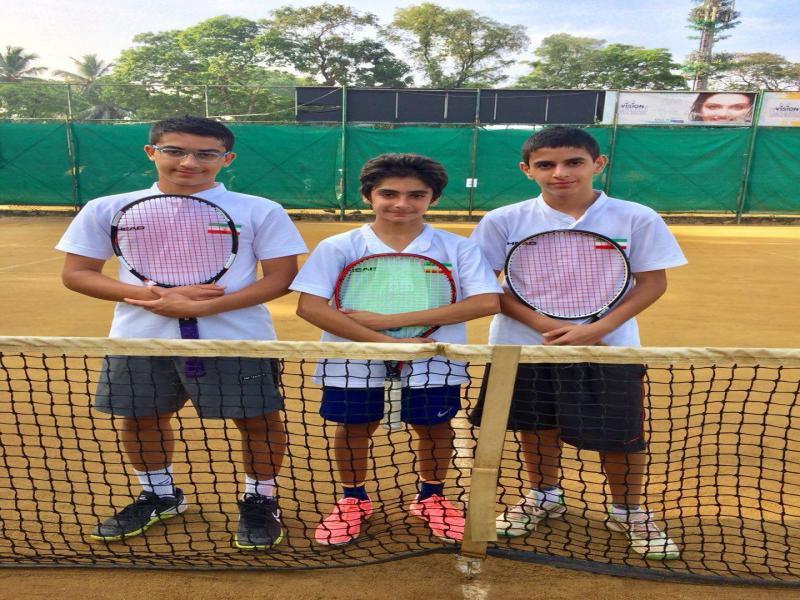 کسب مقام چهارم توسط پسران ایران در تنیس پیش مقدماتی تیمی آسیا و اقیانوسیه