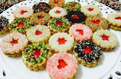 آشنایی با روش تهیه شیرینی خشک بیسکویت دوقلو ؛ مخصوص عید نوروز