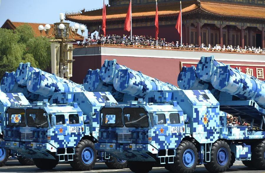 افزایش فروش جنگ افزارهای چینی در جهان