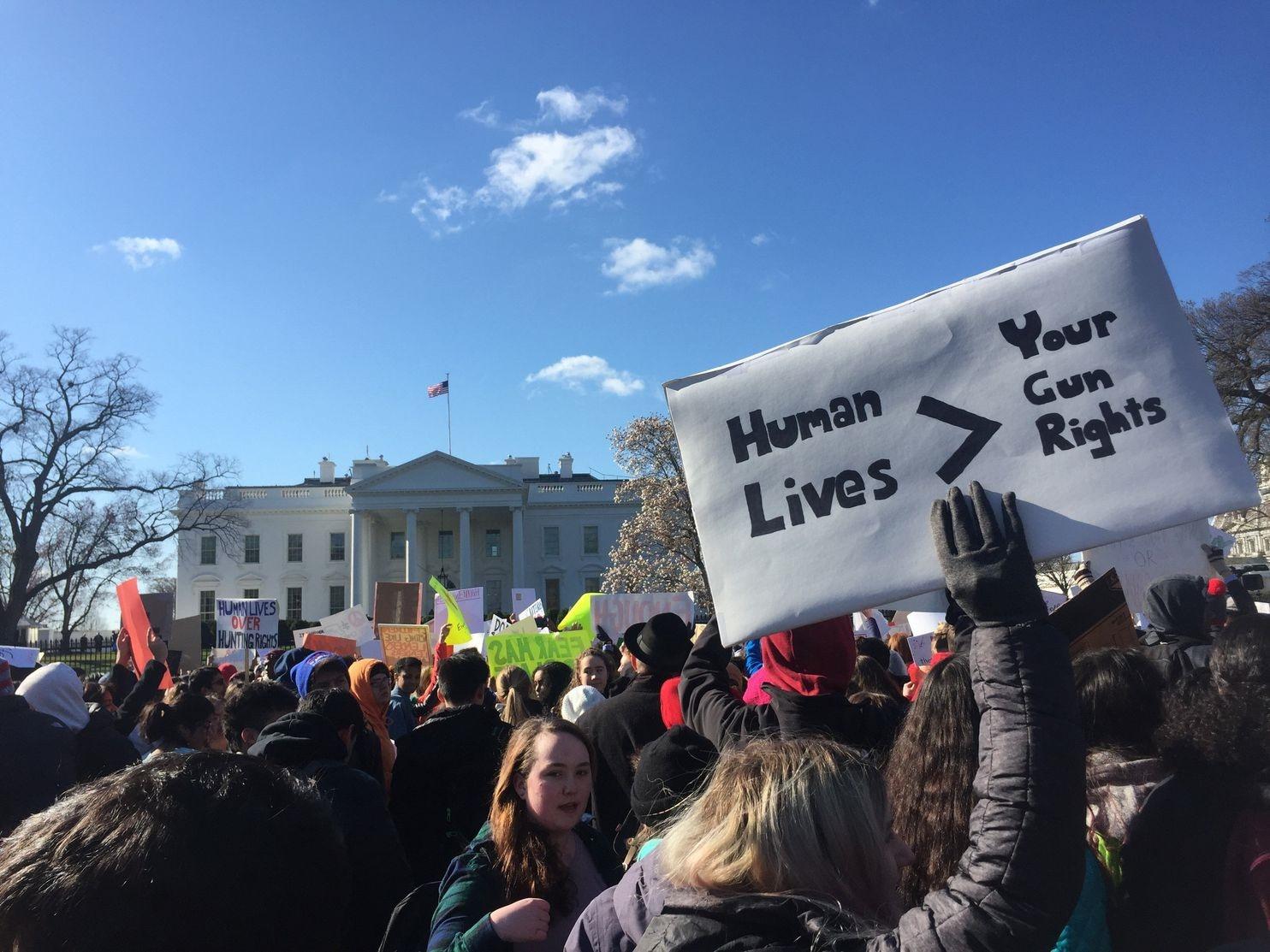 عکس روز: تظاهرات ضد اسلحه