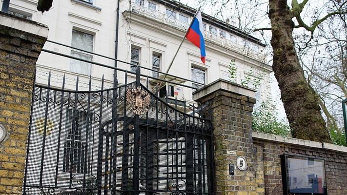 سفارت روسیه در لندن اقدام انگلیس را خصمانه خواند