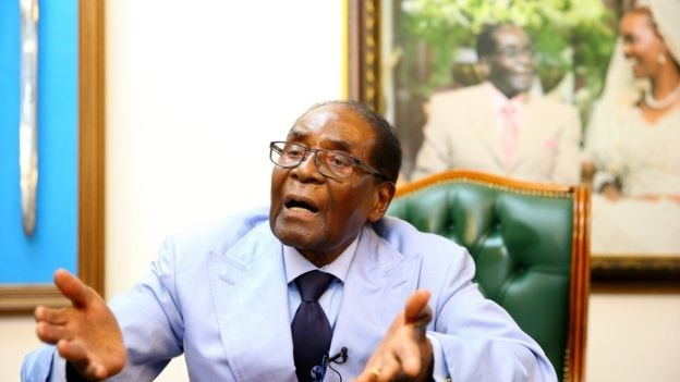 رابرت موگابه: برکناری من از قدرت، کودتا بود