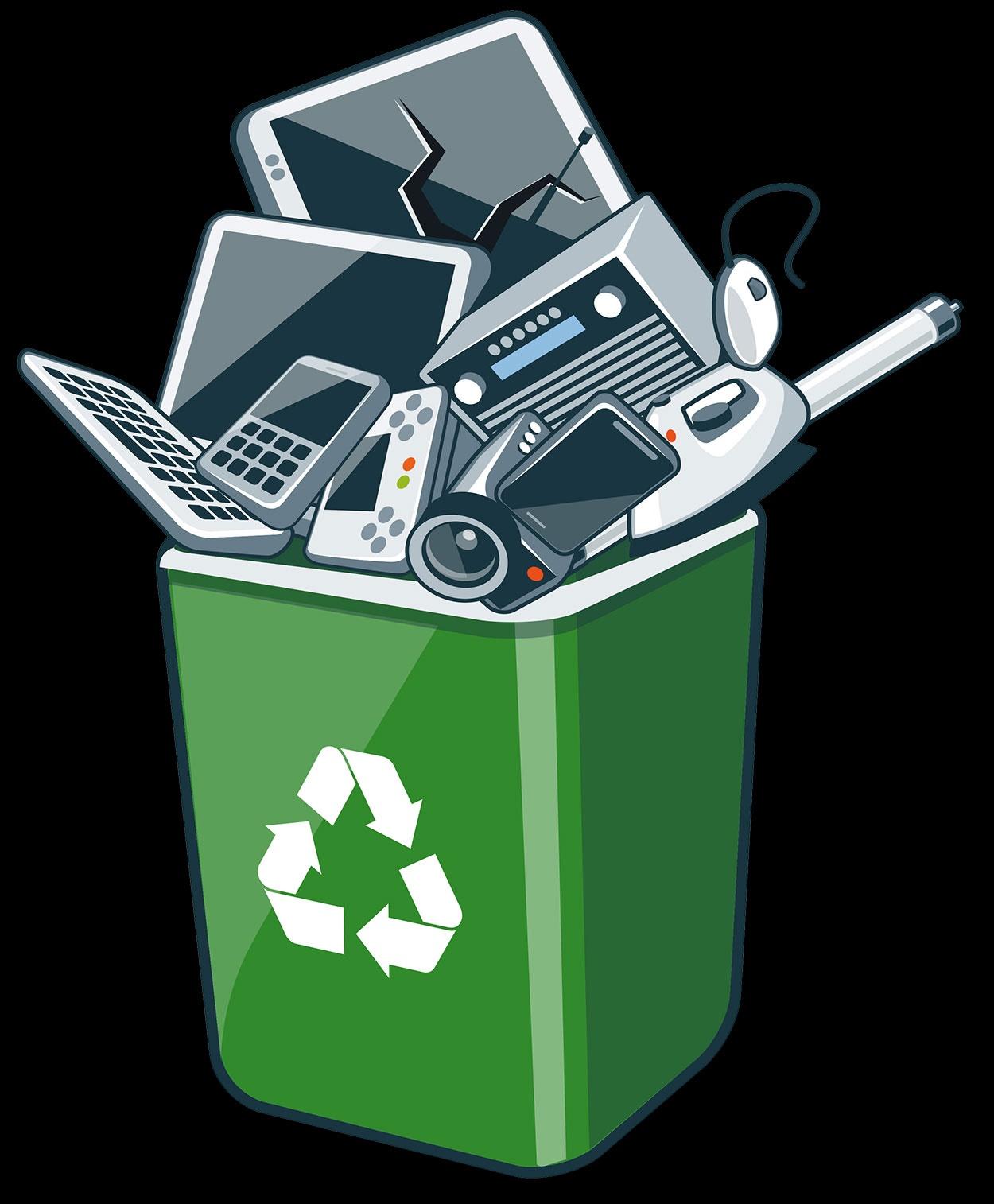 خرید پسماندهای الکترونیکی از شهروندان در غرفههای بازیافت