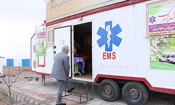 کمپ های نوروزی اورژانس