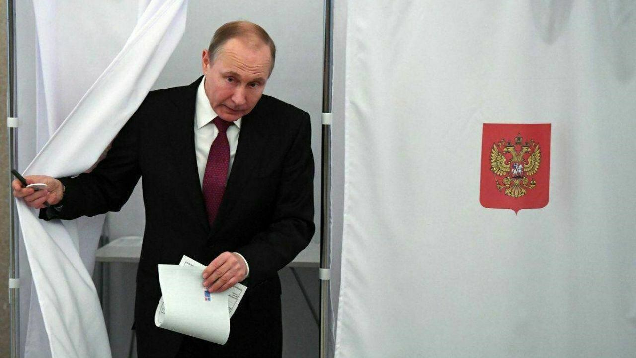 پوتین در انتخابات روسیه به پیروزی رسید
