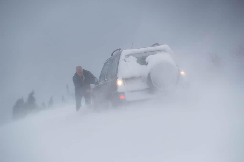 عکس روز: برف بادآورد