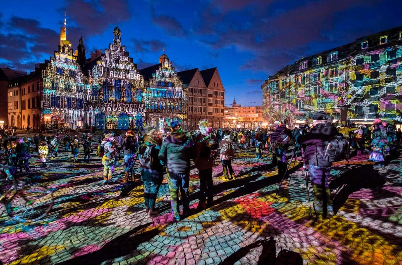 عکس روز: رنگهای فرانکفورت