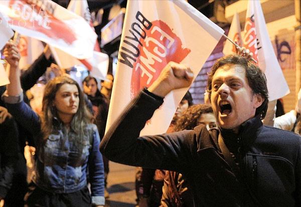 تظاهرات در اروپا علیه عملیات ترکیه در عفرین