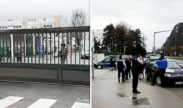 حمله با خودرو فرانسه