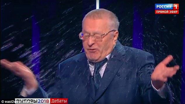 مشاجره کاندیداهای ریاست جمهوری روسیه