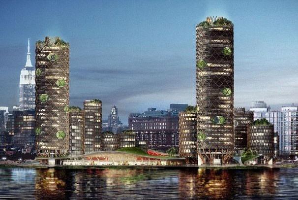 یک جزیره در نیویورک برای مقابله با افزایش سطح دریا ساخته میشود