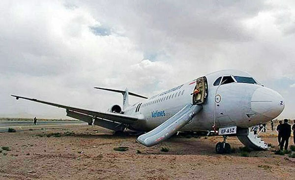 فرود سلامت هواپیما تبریز