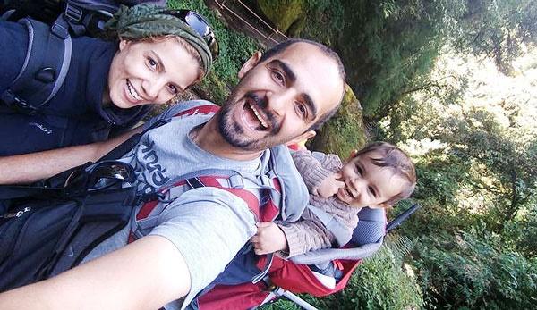 سفر مریم شایان مهر با آراد به هیمالیا