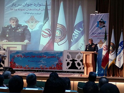 سربازی به برکت انقلاب اسلامی از جایگاه خاصی برخوردار است