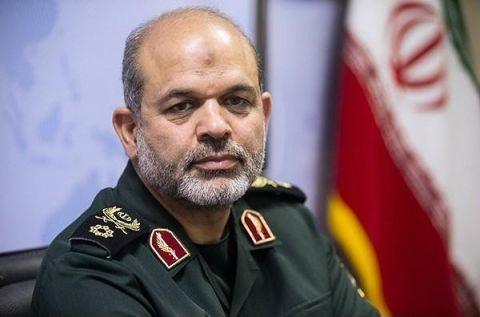 سردار وحیدی: فرانسویها اجازه اظهارنظر درباره توان موشکی ایران را ندارند