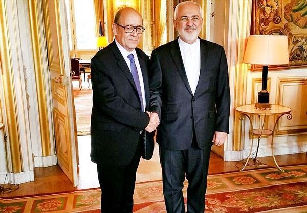 گفتوگوی وزرای خارجه ایران و فرانسه در تهران