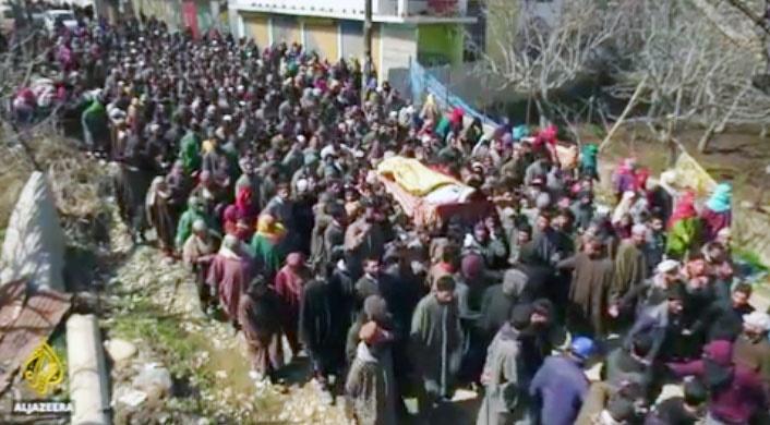 دور جدید ناآرامی ها در کشمیر پس از کشته شدن ۶ نفر