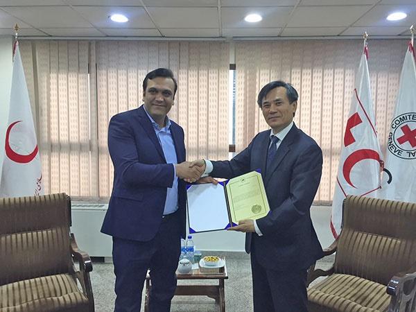 سفیر کره در ایران