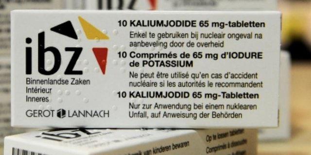 توزیع رایگان قرصهای ضد رادیواکتیو در داروخانههای بلژیک