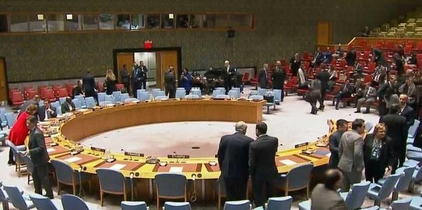 شورای امنیت و سوریه |  ۳ ساعت رایزنی و  سپس بیانیه یک دقیقهای