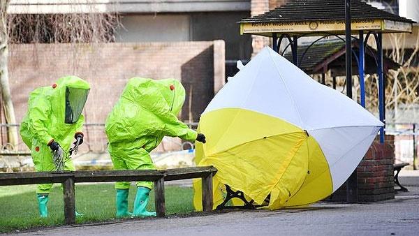 مسمومیت جاسوس روس در انگلیس