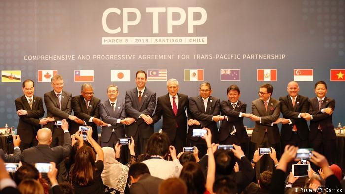 ۱۱ کشور توافق تجارت آزاد ترانس پاسفیک را امضا کردند
