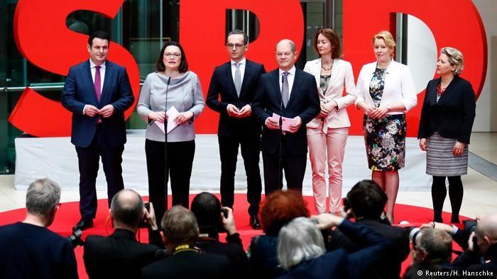 معرفی وزیران سوسیال دموکرات برای کابینه جدید در آلمان | هایکو ماس وزیر خارجه می شود