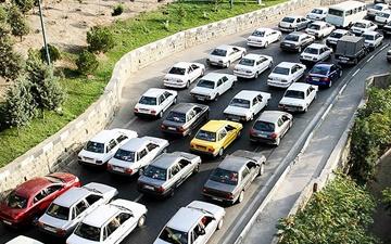 چالوس یک طرفه شد | ترافیک سنگین در برخی محورها