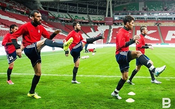 تصاویری از آخرین جلسه تمرینی تیم ملی پیش از دیدار با تونس