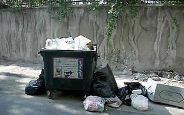 تولید زباله در تهران دو برابر شهرهای مشابه