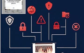 شوک اپل برای # فناتحریم